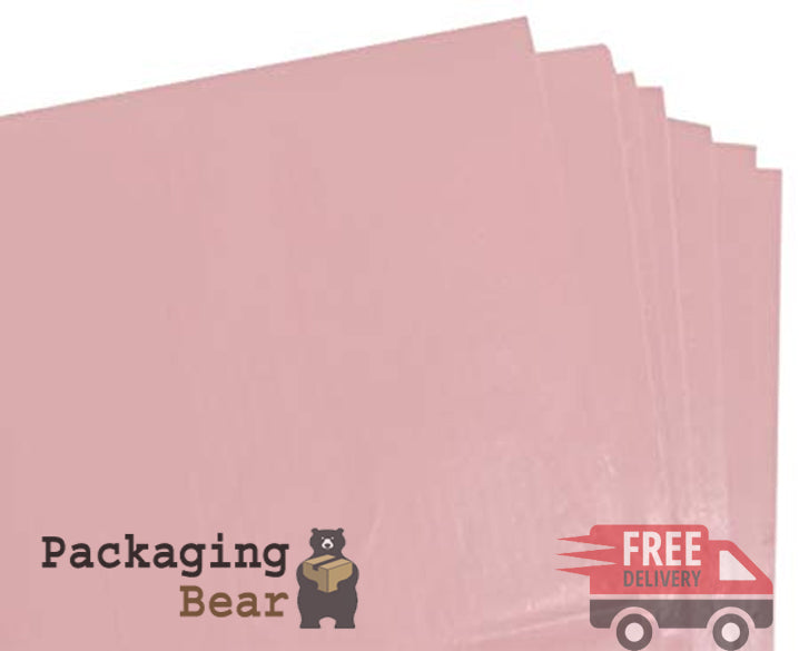 Pale Pink Acid Free Tissue Paper 375x500mm | packagingbear.co.uk