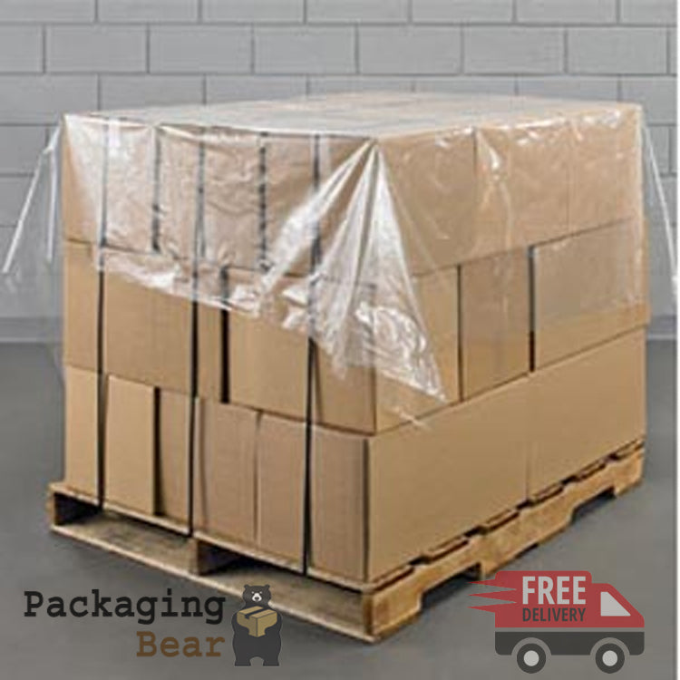 Polythene Pallet Top Covers Sheets 1400mm x 1400mm | packagingbear.co.uk