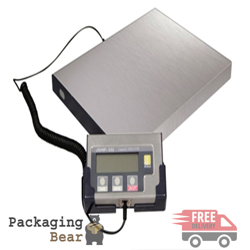 Jennings J332 Digital 150kg Parcel Platform Weighing Scales | Packagingbear.co.uk
