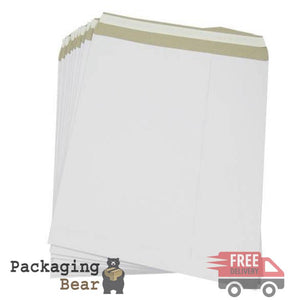 "Extra Strong 12"" White Record LP Viynl Mailers Envelopes 