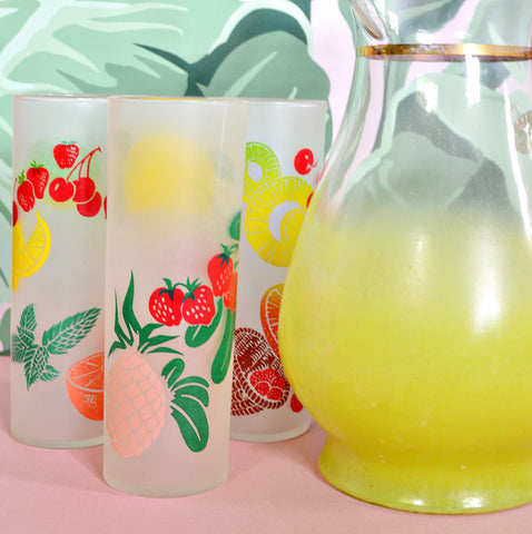 Fruit glassware set