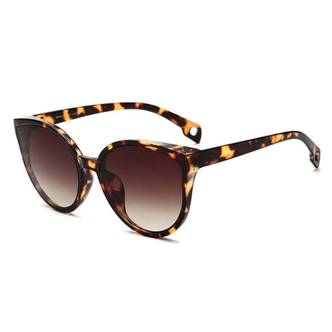 Slight Cat Eye Sunglasses- Multiple Colors