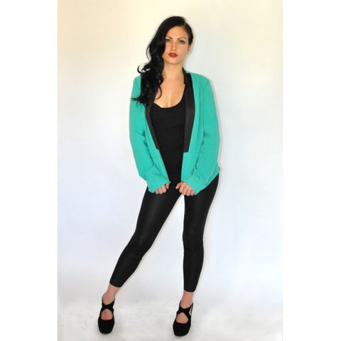 Turquoise suit by Covet
