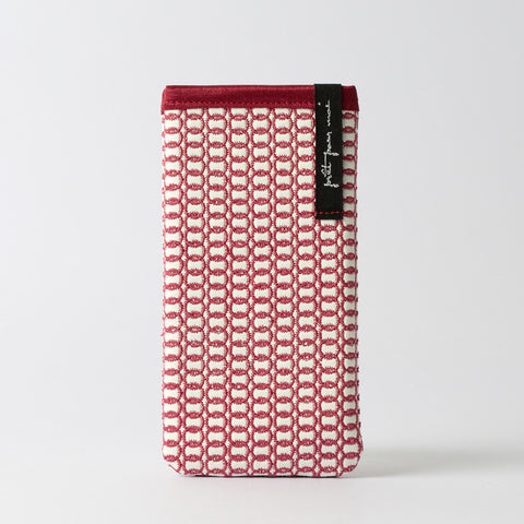 Mobile Case Broadway white/raspberry