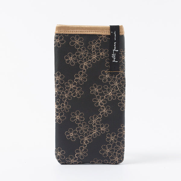 Mobile Case Mille Fleurs black/sand