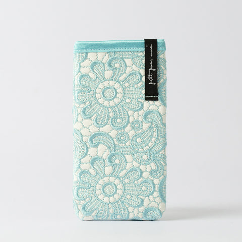 Mobile Case Tiffany white/aqua