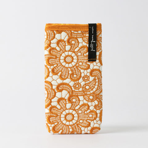 Mobile Case Tiffany white/mandarine