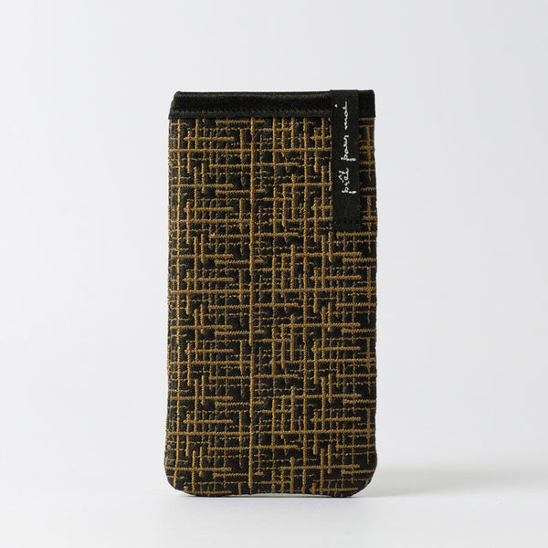 Mobile Case Wallstreet black/cognac