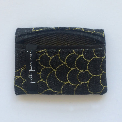Mini Case Mila black jeans/avocado