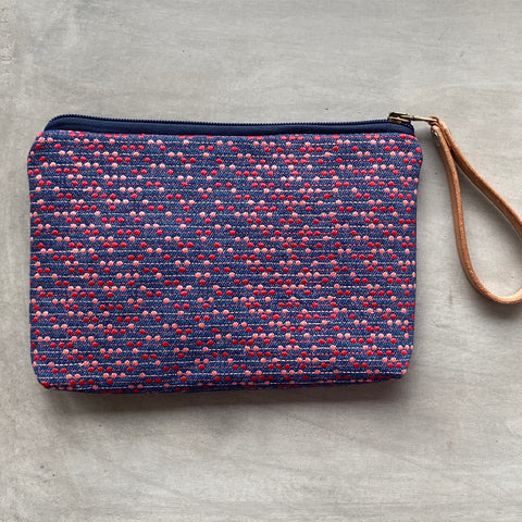 Simple Case Manhattan blue jeans/sangria/red