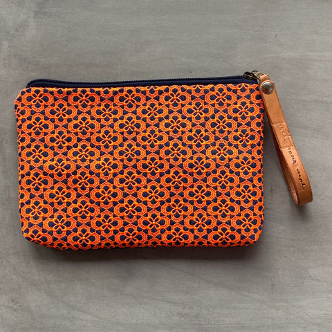 Simple Case Queens jeans darkblue/neon orange