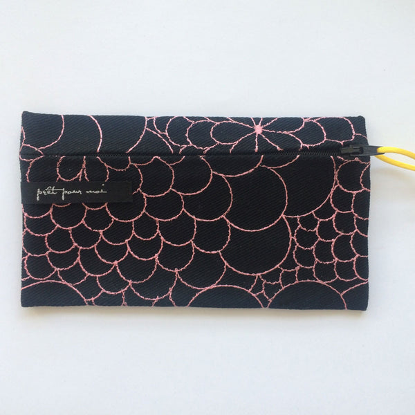 Simple Purse Mila black/emily pink
