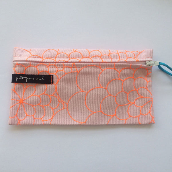 Simple Purse Mila rosa/neon orange