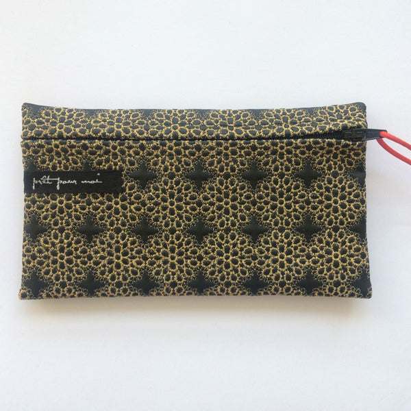 Simple Purse Tribeca black/gold