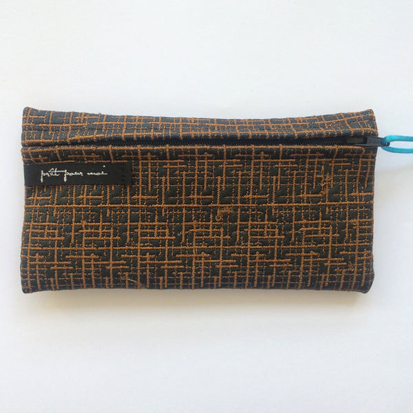 Simple Purse Wallstreet black/cognac