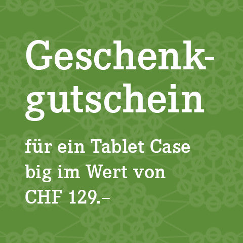 Gutschein Tablet Case Big