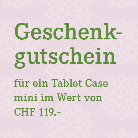 Gutschein Tablet Case Mini