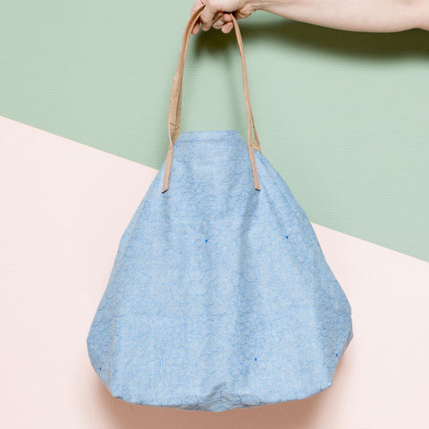 Tote Bag Big Mila light jeans/capri
