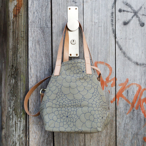 Tote Bag Mini Mila light sage/jeans