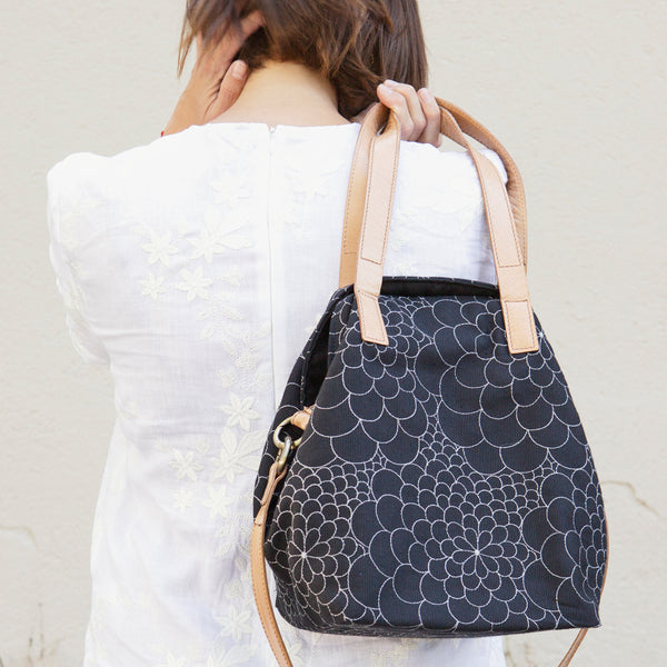 Tote Bag Mini Mila black/silver