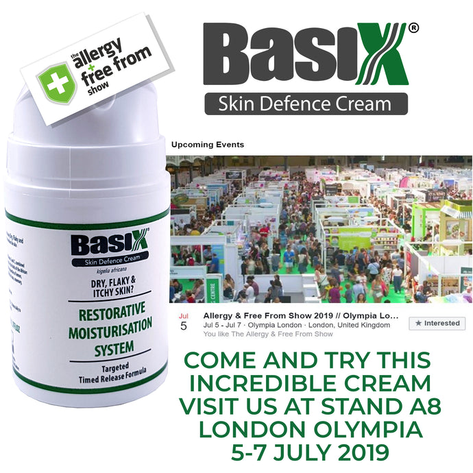 We are exhibiting at The Allergy & Free From Show in London Next Month!