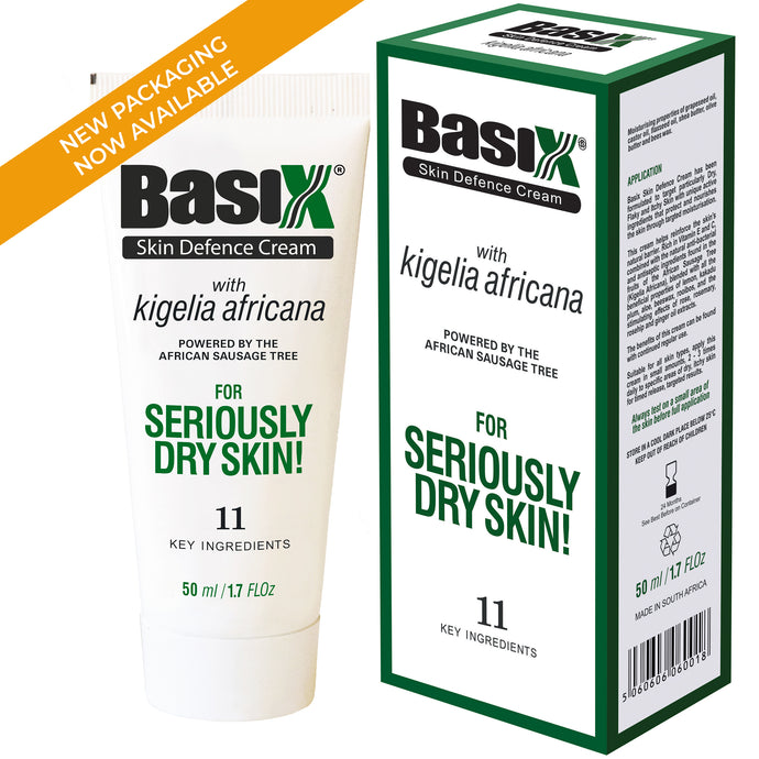 New Packaging for Basix Skin Defence Cream