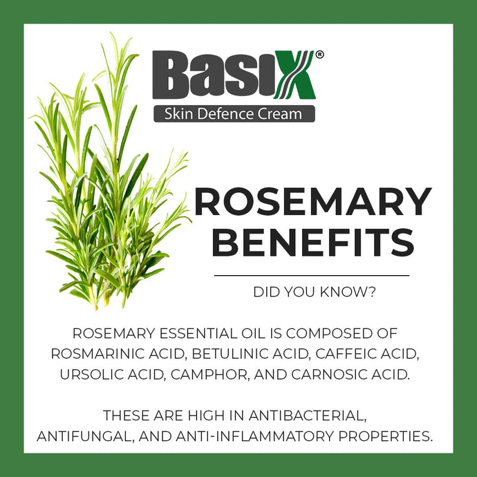 Why do we use Rosemary in Basix Skin Defence Cream?