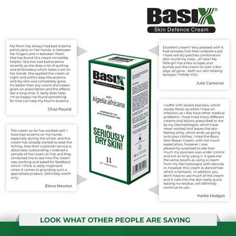 Look what people are saying about Basix