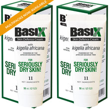 Load image into Gallery viewer, Basix Skin Defence Repair Cream - TWIN PACK [100ml] - Soothes Dry Skin Caused by Eczema, Psoriasis & Dermatitis