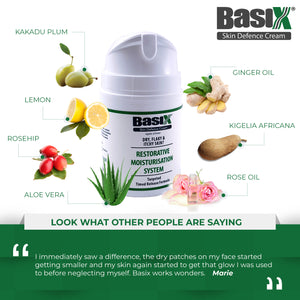 Sample Pot of Basix Skin Defence Cream 5ml - TRY ME AND SEE