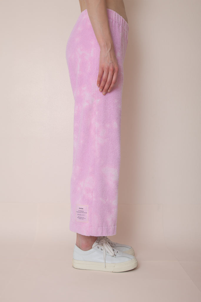 Acid Tie Dye Unisex Pocketless Terry Pants