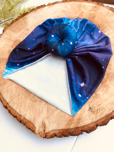 Galaxy Doughnut Headwrap|Baby Turban|Adult Turban|Adult Headwrap|Child Headwrap|Kids Top Knot|Newborn Hat|Chemo Cap|Headscarf