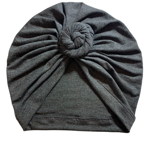 Twisted Knot Charcoal|Adult Headwrap Turban|Baby Turban|Adult Turban|Top Knot Turban| Baby Hat|Kids Turbans|Toddler Turban|Bun Turban