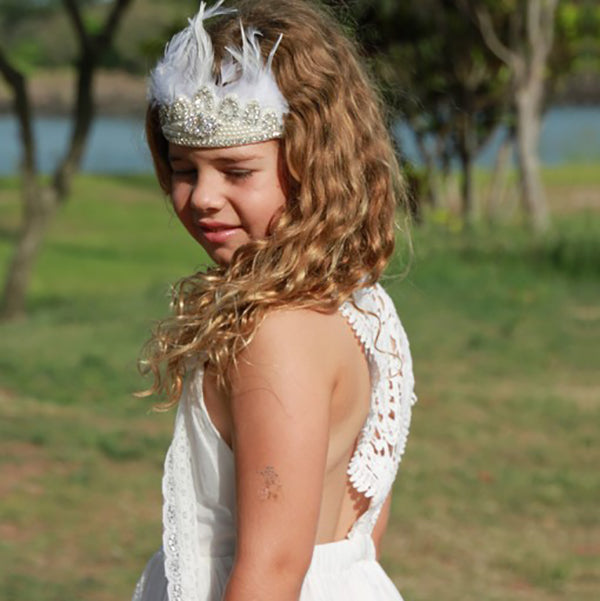 The Ultimate Flower Girl Dress Inspiration & Interview with Goosebumps Clothing by: TO THE AISLE