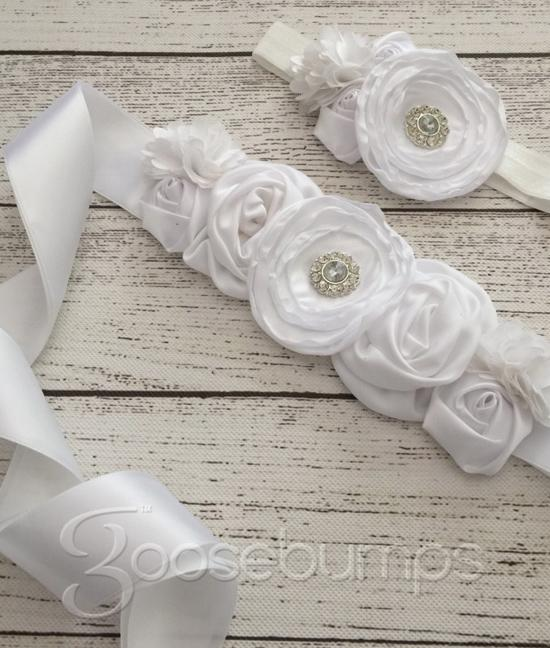 Sash and Headband Set - Goosebumps Clothing