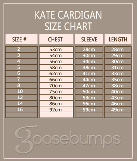 Kate Cardigans - Goosebumps Clothing