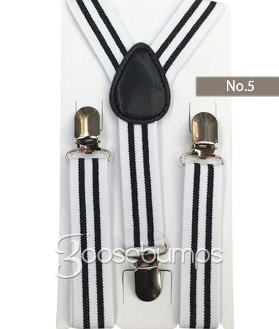 Boys Suspenders - Goosebumps Clothing