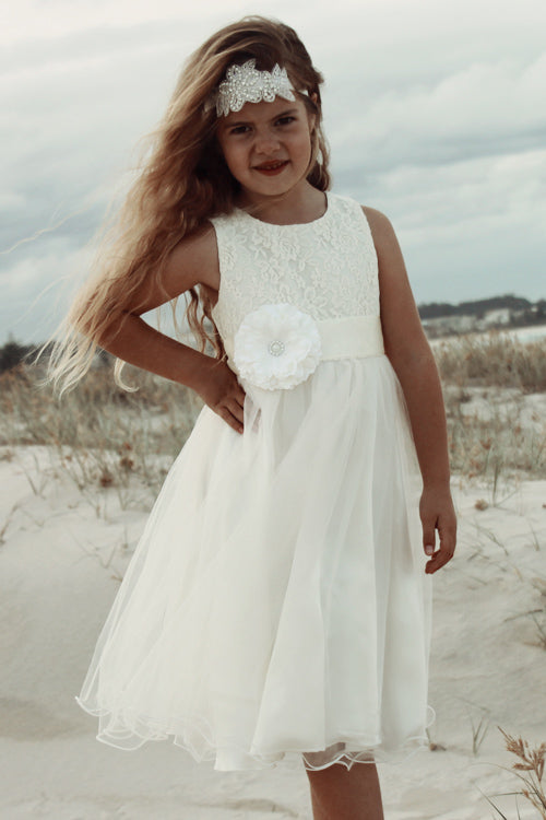 Audrey Tulle Dress IVORY - Goosebumps Clothing