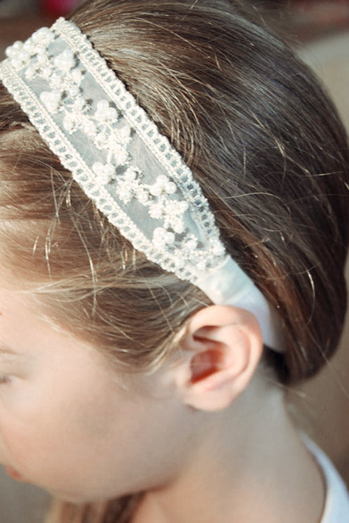 Cream Ivory Pearl Headbands - Goosebumps Clothing