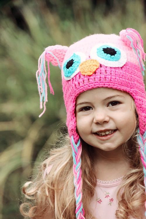 Owl Kids Beanies - Goosebumps Clothing