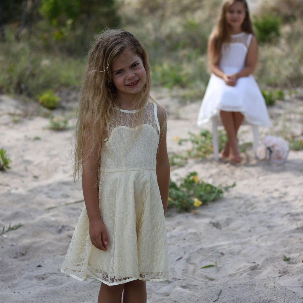 Stina Lace Dress IVORY