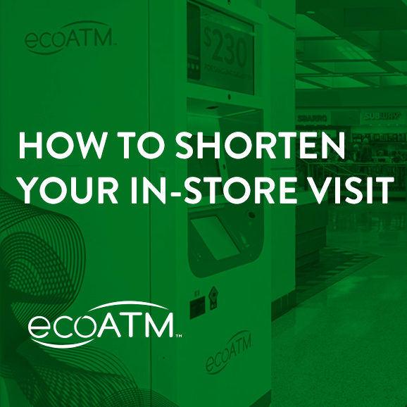 how to shorten your in-store visit