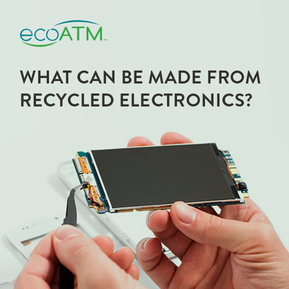what can be made from recycled electronics