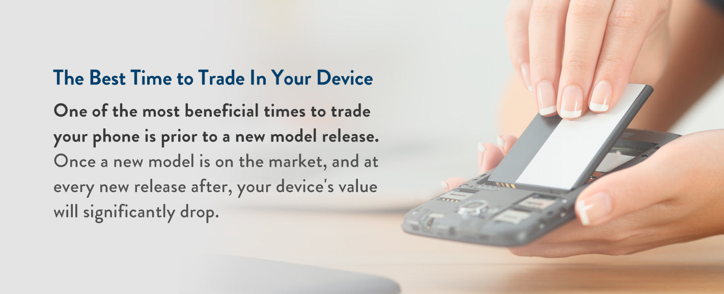 Best time to trade in your devices