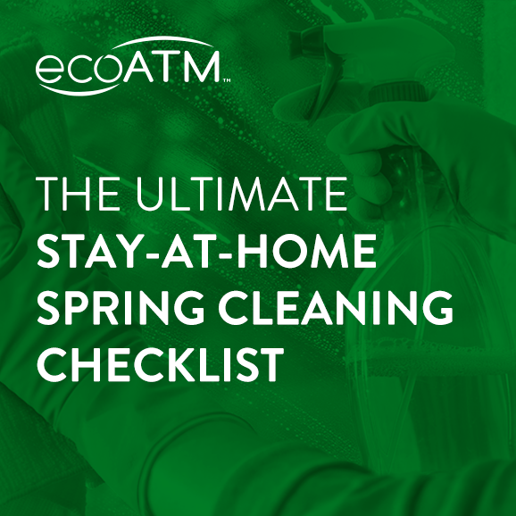 stay at home spring cleaning checklist
