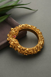 Gauri Temple Work Embossed Bangle