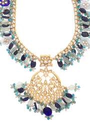 Sahima Multicolor Kundan Inspired Necklace