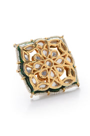 Preet Kundan and Pearls Ring