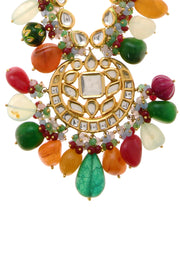 Zienna Navrattan Kundan Inspired Necklace