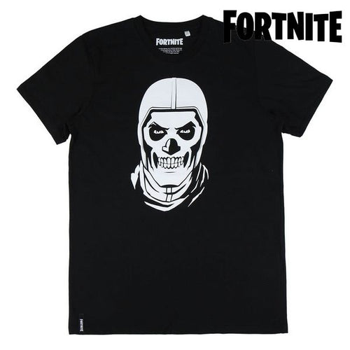 Barn T-shirt med kortärm Fortnite Svart